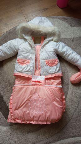 Зимовий одяг на дівчинку