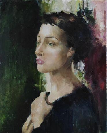 Картина маслом, портрет