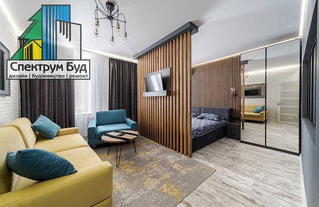 Ремонт квартир, офісів під ключ у Львові. Договір, гарантія, якість
