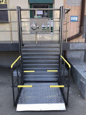 Подъемник для инвалидов. Пандус. Лифт