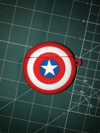 Pokrowiec case air pods 1 2 marvel captain america