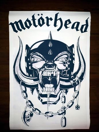 plakat Motorhead heavy thrash metal rock