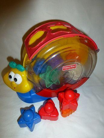 Zabawka edukacyjna kształty Ślimak fisher-price