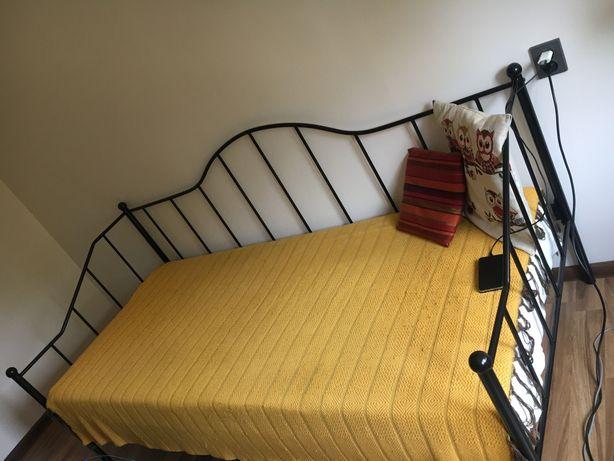 Łóżko metalowa rama