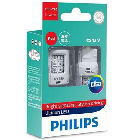 Philips W21W Т10 RED Ultinon 12V 11065ULRX2