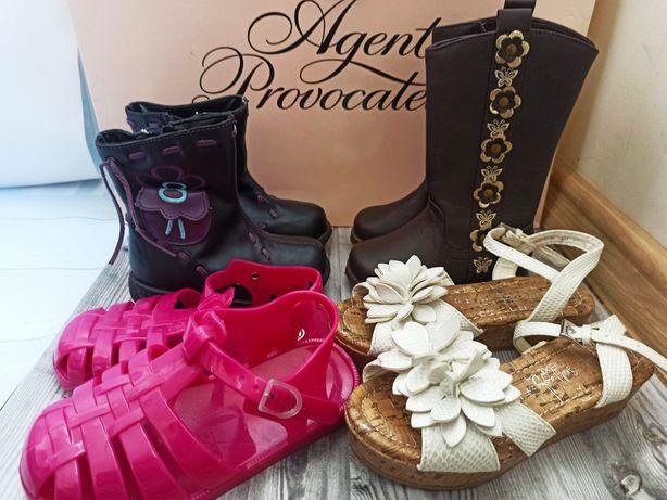 Набор обуви для девочки от 22 до 27 размера