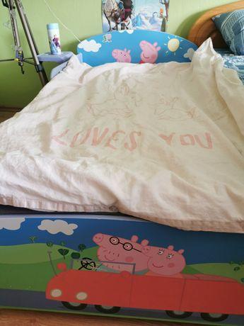 Łóżeczko ze świnka Peppa
