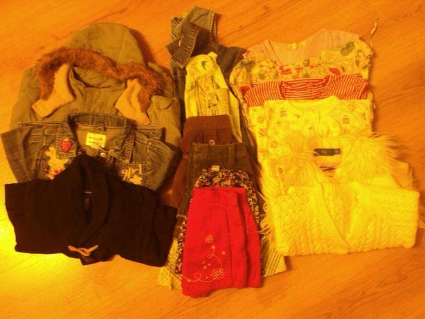 Paczka ubrań dla dziewczynyroz.98-104