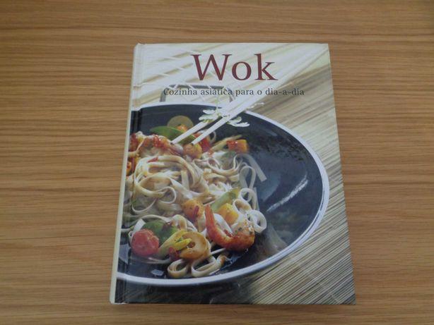 Livro de receitas: Wok - Cozinha asiática para o dia-a-dia - Como Novo