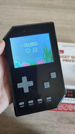 Konsola mini do gry retro gameboy 500 gier duża bateria czarna
