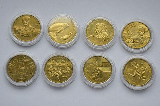 Zestaw monet 2 złote 1999/2004 Malinowski Jan Paweł II Morświn August