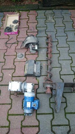 Części pieca zębiec-sterownik-dmuchawa-podajnik-motoreduktor