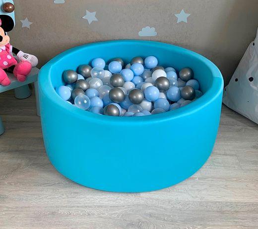 Детский сухой бассейн. Бассейн с шариками. Отправка в день заказа.