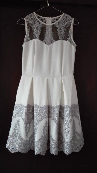 Sukienka na ślub cywilny lub wesele - gratis rajstopy modelujące Gliwice - image 1