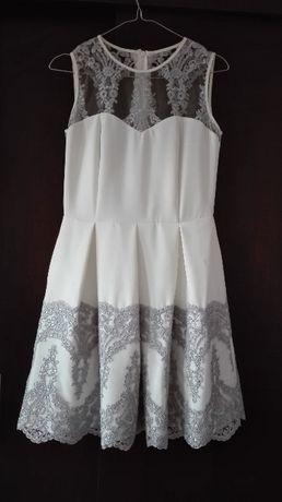 Sukienka na ślub cywilny lub wesele - gratis rajstopy modelujące