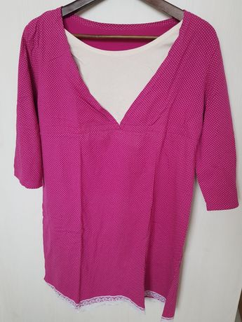 Koszula nocna dla mamy karmiącej rozmiar L/XL