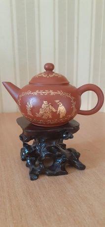 Китайский чайник. Объем 200мл. Форма Шуй Пин Ху - водный уровень