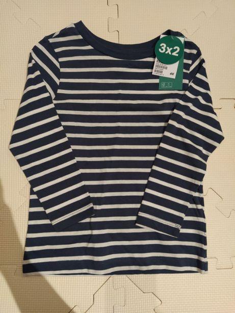 Koszulka z długim rękawem h&m 110-116