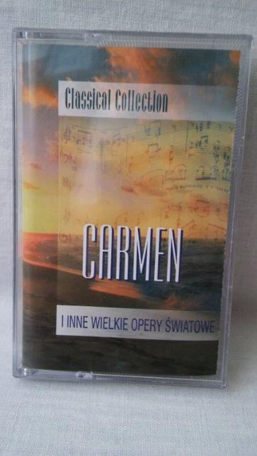 Kaseta magnetofonowa Carmen i inne wielkie opery światowe