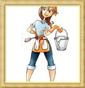 Sprzątanie domów, mycie okien,prasowanie.