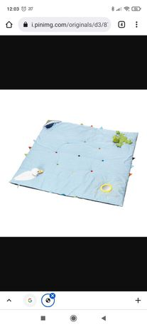 Tapete de atividades para bebé 118 x 118 IKEA
