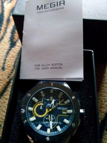Zegarek Megir orginalny chronograf