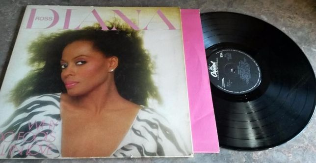 Vinil LP Diana Ross - Why Do Fools Fall in Love