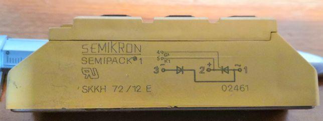 Moduł diodowo-tyrystorowy SCR SKKH 72/12 E