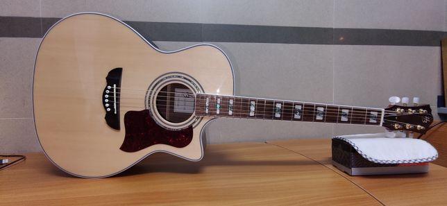 Electroacustica HB Guitarra Viola Acustica Amplificada NOVA