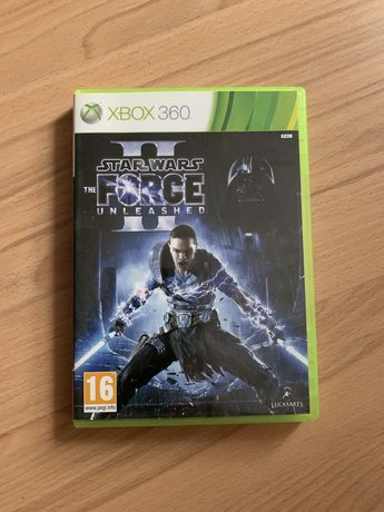 Gry xbox 360 star wars force unleashed