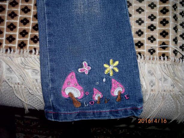джинсы для крохи