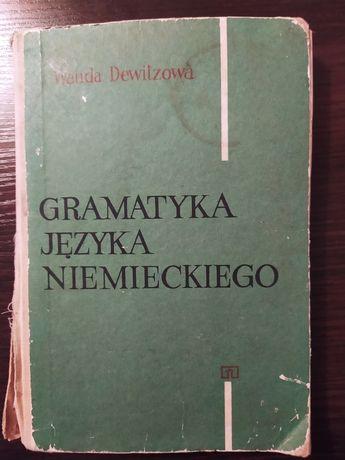 Gramatyka języka niemieckiego Wanda Dewitzowa WSiP