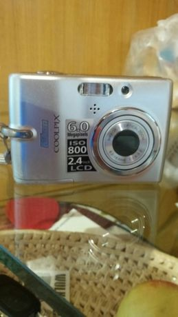 "Nikon Coolpix L11 6 Mpx 2,4"" 3-krotny zoom, pudełko, ładowarka-komplet"