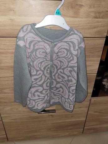 Sweterek 116 dla dziewczynki