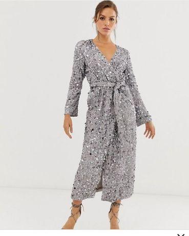 Шикарный платье asos 48 размер