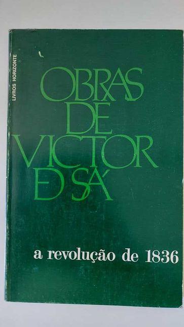 A revolução de 1836, obras de Victor de Sá, Livros horizonte