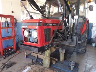 Przedni Napęd Zetor 7211 c360 pierwszy w Polsce 10 lat temu traktor4x4