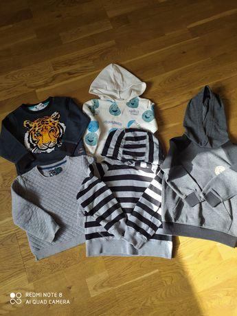 Bluzy dla chłopca 98-104 Zara,H&M