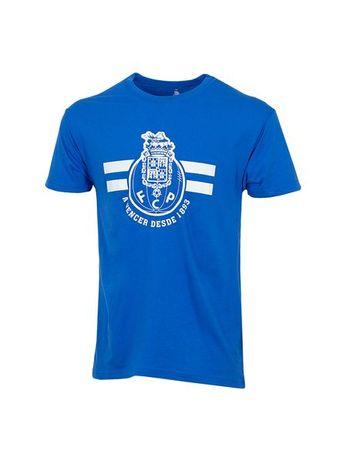 T-shirt Ad Azul Royal Logo + A vencer FC Porto