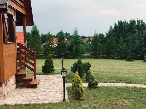 Domek letniskowy nad jeziorem Ługowiska