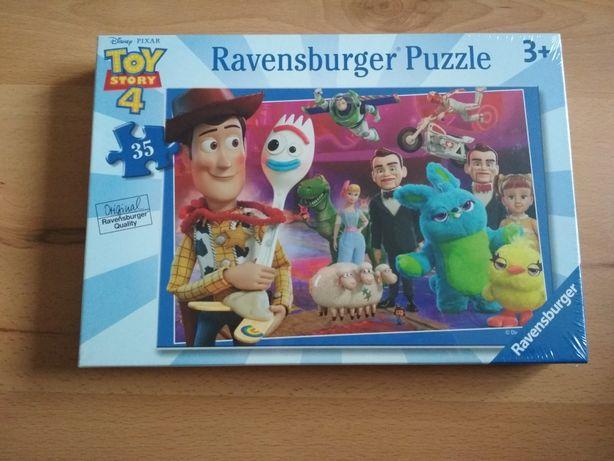nowe zapakowane puzzle toy story 4