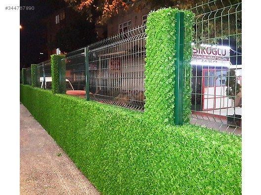 Зеленый забор. Ограждение. Декор.