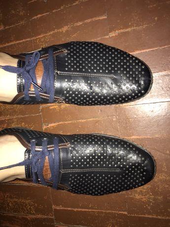 Туфли синие сеточка на подарок смотрите др. мои товары