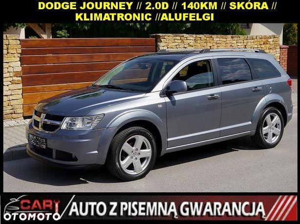 Dodge Journey 2.0 CRD 140KM,Skóra,Klimatronik.Serwis...