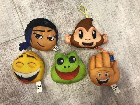 Скидка 20 % Смайлы Emoji movie из Макдональдса игрушки