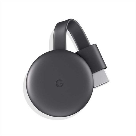 Google Chromecast conetor Smart TV Full HD HDMI Antracite, Cinzento