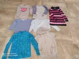 Bluzy,tuniki r.140,146,152 H&m,smyk,5.10 15