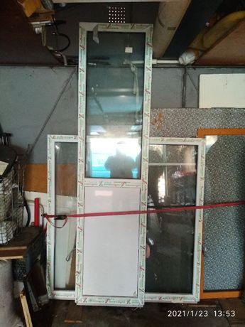 Балконные конструкции (Окно + Секция остекления сендвич)