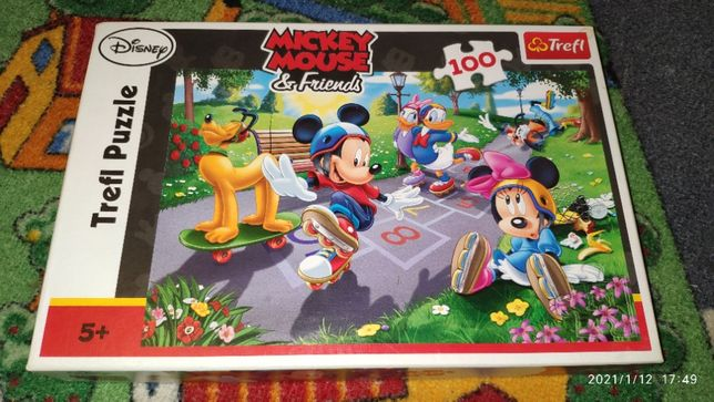 Wyprzedaż - puzzle myszka miki #2