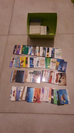 Karty telefoniczne chip/magnetyczne